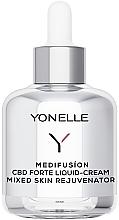 Düfte, Parfümerie und Kosmetik Flüssige verjüngende Gesichtscreme mit Cannabidiol für normale und Mischhaut - Yonelle Medifusion CBD Forte Liquid-Cream