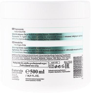 Cremiges Fußpeeling mit Mandelöl und Harnstoff - Bielenda Professional Foot Paradise Creamy Foot Scrub With Almond Oil And Urea — Bild N2