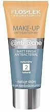 Düfte, Parfümerie und Kosmetik Antibakterielle mattierende Foundation - Floslek Anti Acne Make Up