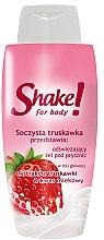 Düfte, Parfümerie und Kosmetik Duschgel mit Erdbeere - Shake for Body Shower Gel Strawberry