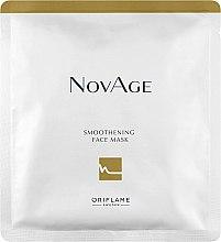 Düfte, Parfümerie und Kosmetik Glättende Tuchmaske - Oriflame NovAge Smoothening Face Mask