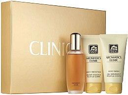 Düfte, Parfümerie und Kosmetik Clinique Aromatics Elixir Essentials Set - Duftset (Eau de Parfum 45ml + Duschgel 75ml + Körperlotion 75ml)