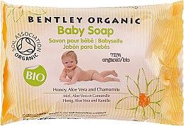 Düfte, Parfümerie und Kosmetik Sanfte Babyseife mit Honig, Aloe Vera und Kamille - Bentley Organic Baby Soap