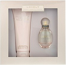 Düfte, Parfümerie und Kosmetik Sarah Jessica Parker Lovely - Duftset (Eau de Parfum 50ml +Körperlotion 200ml)