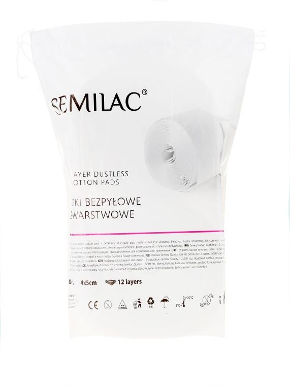 Fusselfreie Zelletten - Semilac Dust-Free Cotton Wipes
