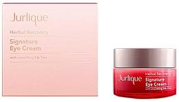 Düfte, Parfümerie und Kosmetik Glättende und aufhellende Augencreme mit persischem Seidenbaum-Extrakt - Jurlique Herbal Recovery Signature Eye Cream