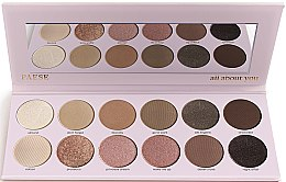 Düfte, Parfümerie und Kosmetik Lidschattenpalette - Paese All About You Eyeshadow Palette