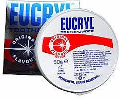 Düfte, Parfümerie und Kosmetik Bleichender Zahnpulver - Eucryl Toothpowder Original