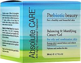 Düfte, Parfümerie und Kosmetik Anti-Aging Cremegel für das Gesicht - Absolute Care Prebiotic Beauty Balancing&Mattifying Cream-Gel