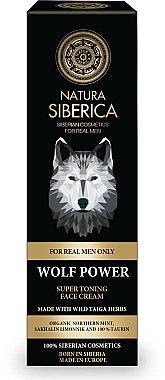 Straffende Gesichtscreme für Männer - Natura Siberica Wolf Power Super Toning Face — Bild N1