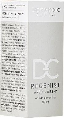 Anti-Falten Gesichtsserum - Dermedic Regenist ARS 3-ARS 4 Wrinkle-Correcting Serum — Bild N1