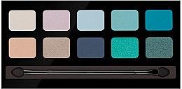 Düfte, Parfümerie und Kosmetik Lidschattenpalette mit 10 Farben - Pierre Rene Palette Match System Eyeshadow Spring