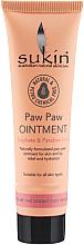 Düfte, Parfümerie und Kosmetik Feuchtigkeitsspendende Salbe für Gesicht, Hände und Körper mit Rizinusöl und Papayaextrakt - Sukin Paw Paw Ointment