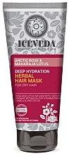Düfte, Parfümerie und Kosmetik Haarmaske - Natura Siberica Iceveda Arctic Rose&Maharaja Lotus Deep Hydration Herbal Hair Mask
