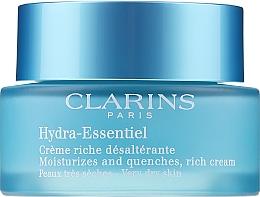 Düfte, Parfümerie und Kosmetik Feuchtigkeitscreme für trockene Haut - Clarins Hydra-Essentiel Rich Cream