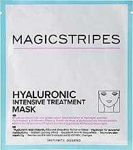Düfte, Parfümerie und Kosmetik Intensive feuchtigkeitsspendende Gesichtsmaske mit Hyaluronsäure - Magicstripes Hyaluronic Intensive Treatment Mask