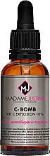 Düfte, Parfümerie und Kosmetik Feuchtigkeitsspendendes und glättendes Gesichtsserum - Madame Justine C-Bomb Vit C Explosion 10% Serum