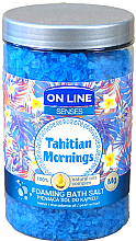 Düfte, Parfümerie und Kosmetik Badesalze - On Line Senses Bath Salt Tahitian Mornings