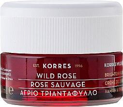 Feuchtigkeitsspendende Tagescreme mit wilder Rose - Korres Wild Rose Brightening & First Wrinkles Day Cream — Bild N2