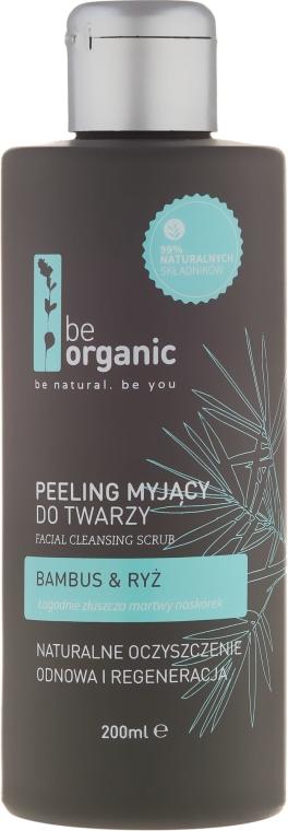 Gesichtspeeling mit Bambus und Reis - Be Organic Facial Cleansing Scrub — Bild N1