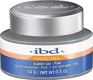 Aufbau-Gel in Pink für natürlich schöne Nägel - IBD Builder Pink Gel — Bild N1