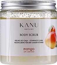 Düfte, Parfümerie und Kosmetik Peelingcreme für den Körper mit Mango und Ringelblume - Kanu Nature Mango Body Scrub