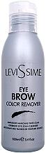 Düfte, Parfümerie und Kosmetik Augenbrauen-Reinigungsmittel zum sanften Entfernen von Farbresten nach der Coloration - LeviSsime Eye Brow Color Remover