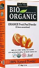 Düfte, Parfümerie und Kosmetik Orangenschalenpulver für die Gesichts- und Haarpflege - Indus Valley Bio Organic