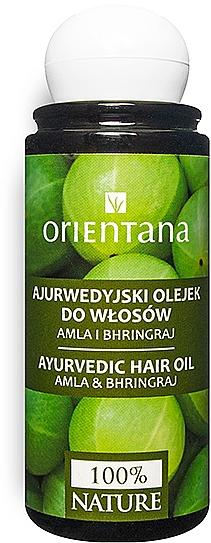 Ayurvedisches Haaröl mit Amla und Bhringraj - Orientana Amla & Bhringraj Ayurvedic Hair Oil — Bild N1