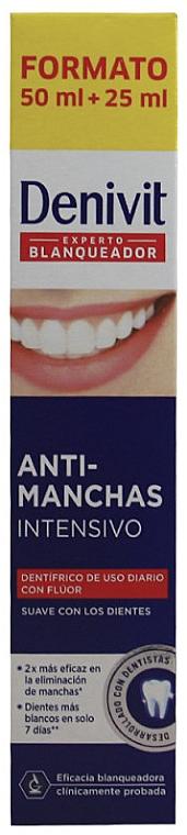Aufhellende Zahnpasta Anti-Stain Intense - Denivit — Bild N3