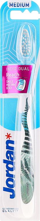 Zahnbürste mittel farngrün - Jordan Individual Reach Toothbrush — Bild N1