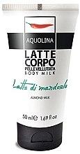 Schützende und feuchtigkeitsspendende Körperlotion - Aquolina Body Milk Almond Milk — Bild N2
