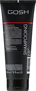 Nährendes Shampoo für strapaziertes Haar mit Vataminen - Gosh Vitamin Booster — Bild N2