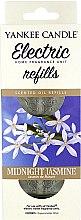 Düfte, Parfümerie und Kosmetik Nachfüller Midnight Jasmine für elektrischen Duftstecker - Yankee Candle Scent Plug Midnight Jasmine (Refill)