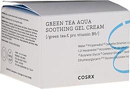 Düfte, Parfümerie und Kosmetik Beruhigende Gelcreme für das Gesicht mit grünem Tee - Cosrx Hydrium Green Tea Aqua Soothing Gel Cream