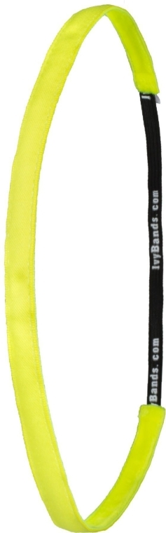 Haarband neongelb - Ivybands Neon Yellow Super Thin Hair Band