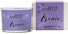Düfte, Parfümerie und Kosmetik Bio-Duftkerze Ironic - PuroBio Home Organic Ironic