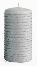 Düfte, Parfümerie und Kosmetik Dekorative Kerze grau 7x10 cm - Artman Andalo