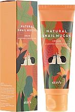 Düfte, Parfümerie und Kosmetik Feuchtigkeitsspendende und pflegende Gesichtscreme mit Schneckenschleim - Skin79 Natural Snail Mucus Cream
