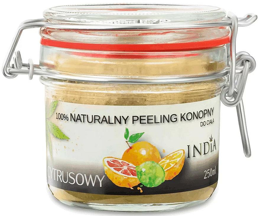 Körperpeeling mit Zitrusfrüchten - India Natural Peeling — Bild N1