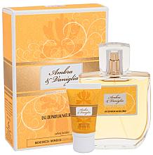 Düfte, Parfümerie und Kosmetik Sireta Collection Ambra & Vaniglia - Duftset (Eau de Parfum 100ml + Duschgel 20ml)