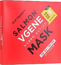 Düfte, Parfümerie und Kosmetik Anti-Aging Tuchmaske - Duft & Doft Salmon Vgene Hydro Active Mask