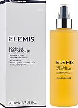 Düfte, Parfümerie und Kosmetik Beruhigendes und erfrischendes Gesichtstonikum mit Aprikosenextrakt - Elemis Soothing Apricot Toner