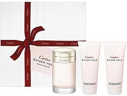 Düfte, Parfümerie und Kosmetik Cartier Baiser Vole - Duftset (Eau de Parfum 100ml + Körperlotion 100ml + Duschgel 100ml)