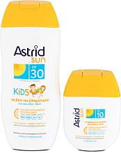 Düfte, Parfümerie und Kosmetik Sonnenschutz Pflegeset - Astrid Sun Kids Milk (Sonnenschutzmilch für Kinder SPF30 200ml + Sonnencreme SPF 10 80ml)