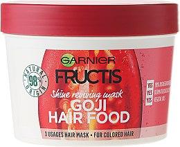 Düfte, Parfümerie und Kosmetik Haarmaske für coloriertes Haar - Garnier Fructis Goji Hair Food