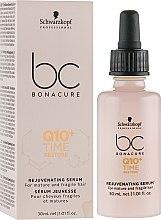 Düfte, Parfümerie und Kosmetik Regenerierendes Haarserum für reife und brüchige Haare Q10 Plus - Schwarzkopf Professional Bonacure Rejuvenating Serum