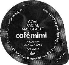 Reinigungsmaske mit Aktivkohle für fettige und problematische Haut - Cafe Mimi Coal Mask — Bild N2