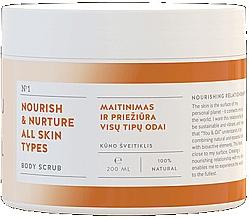 Düfte, Parfümerie und Kosmetik Pflegende Körperpeeling für alle Hauttypen - You & Oil Nourish & Nuture