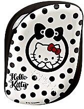 Kompakte Haarbürste - Tangle Teezer Compact Styler Hello Kitty Black Brush — Bild N3